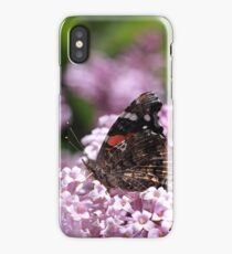 Butterfly In The Lilacs iPhone Case