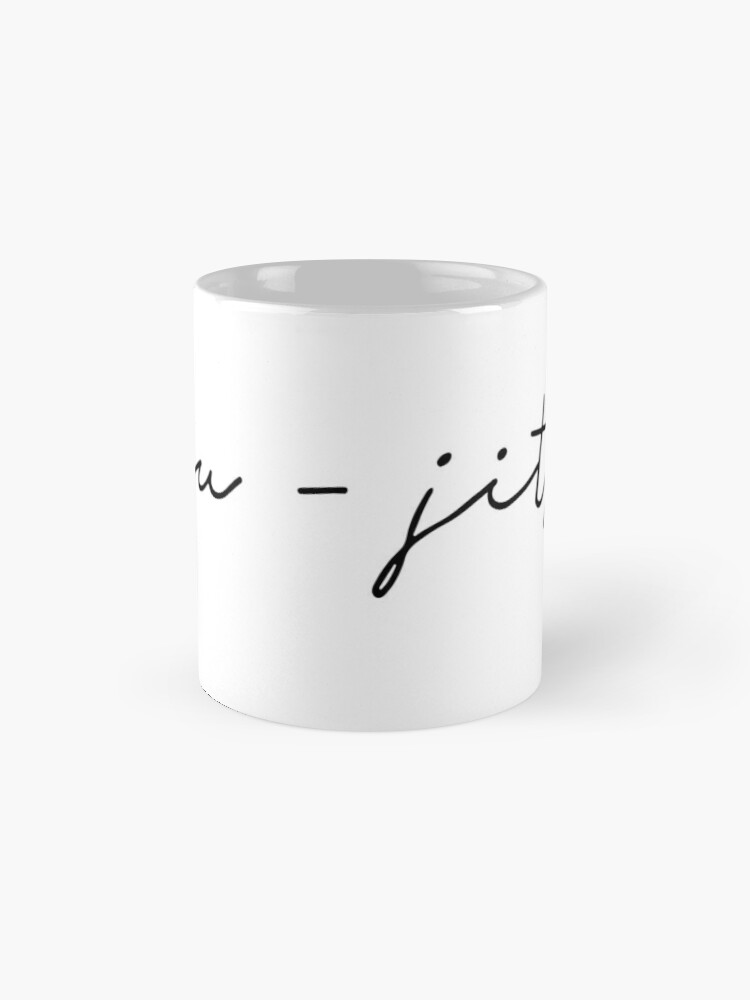 Alternate view of Jiu-Jitsu Mug