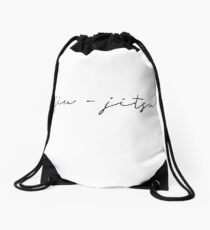 Jiu-Jitsu Drawstring Bag