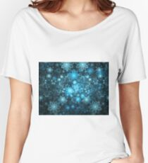 Curlscope Flowers Women's Relaxed Fit T-Shirt