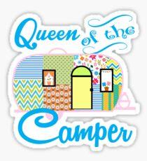 Queen of the Camper Sticker