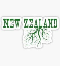 New Zealand Roots Sticker