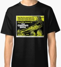The Oblong Box - vintage horror movie poster Classic T-Shirt