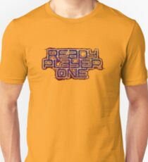 Ready Player One Logo Distressed T-Shirt