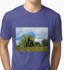 Willow At A Nampa, Idaho Park Tri-blend T-Shirt