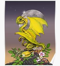 Star Fruit Dragon Poster