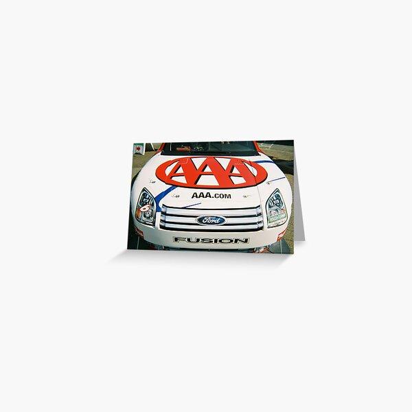 AAA NASCAR  Greeting Card
