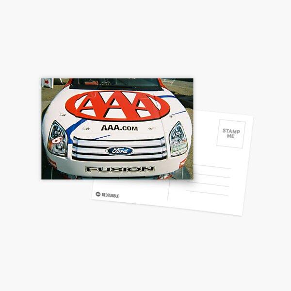 AAA NASCAR  Postcard
