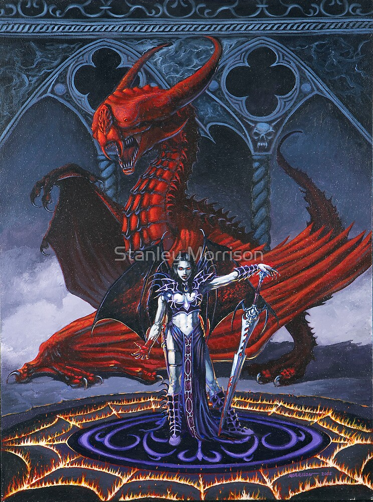 Akasha and the Blood Dragon by Stanley Morrison
