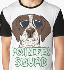 POINTER SQUAD (liver and white ticked) Graphic T-Shirt