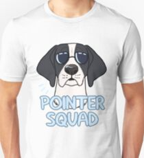 POINTER SQUAD (black and white) T-Shirt