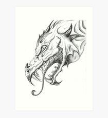 Dragon-2009 Art Print