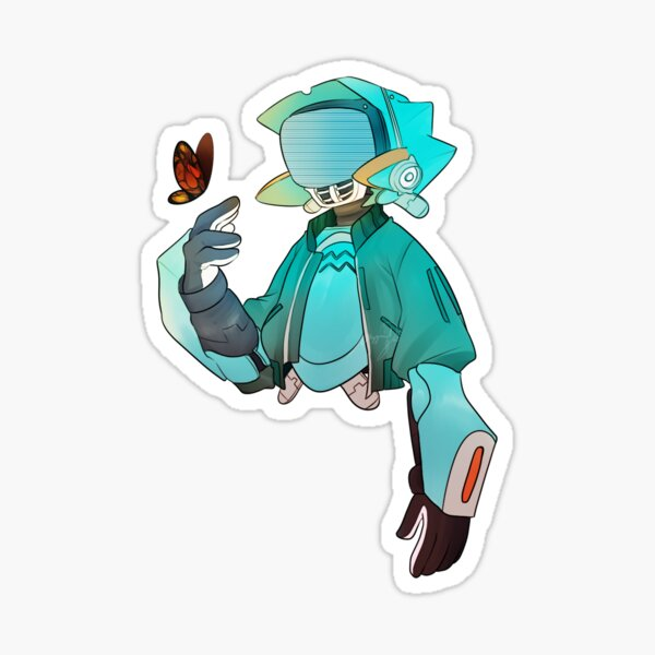 fooly cooly Sticker