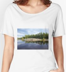 Exploring South Franklin Island I Women's Relaxed Fit T-Shirt