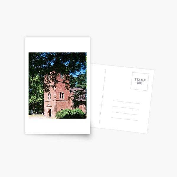 ST LUKES CHURCH IN SMITHFIELD VA. CIRCA 1632  Postcard