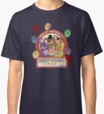 Freddy Fazbear's Birthday! (survivor version) Classic T-Shirt
