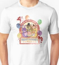 Freddy Fazbear's Birthday! (survivor version) Unisex T-Shirt