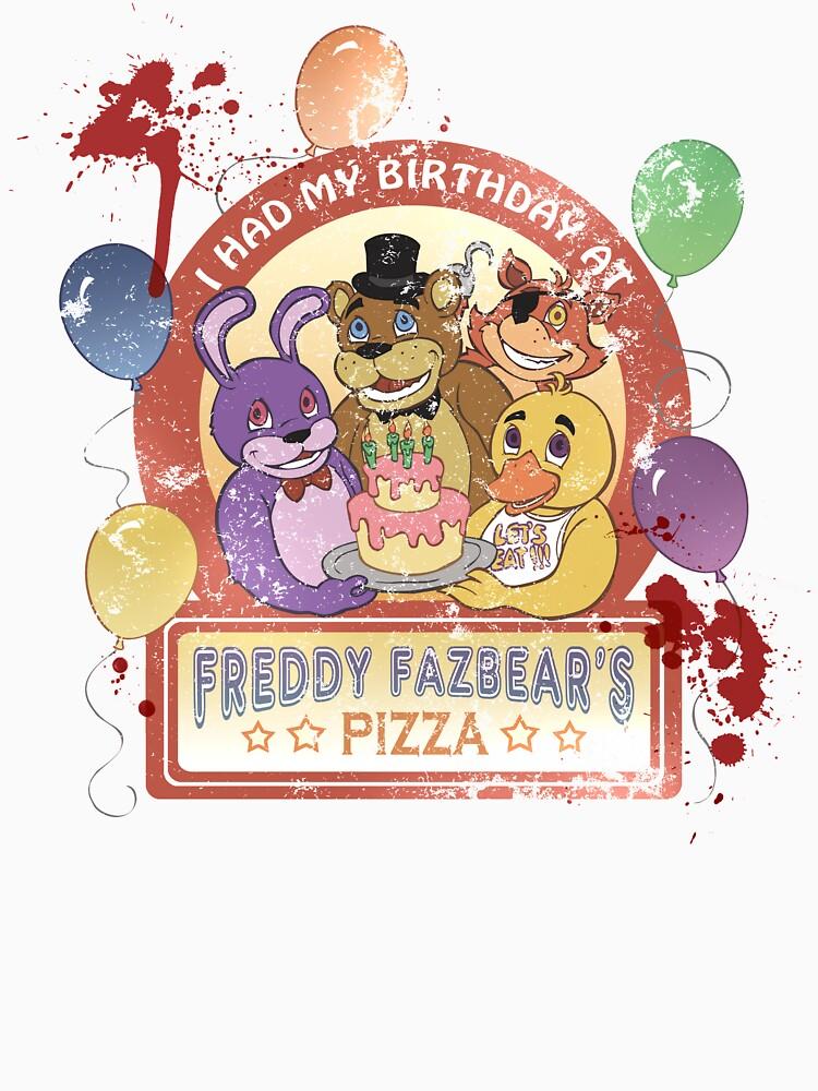 Freddy Fazbear's Birthday! (survivor version) | Unisex T-Shirt