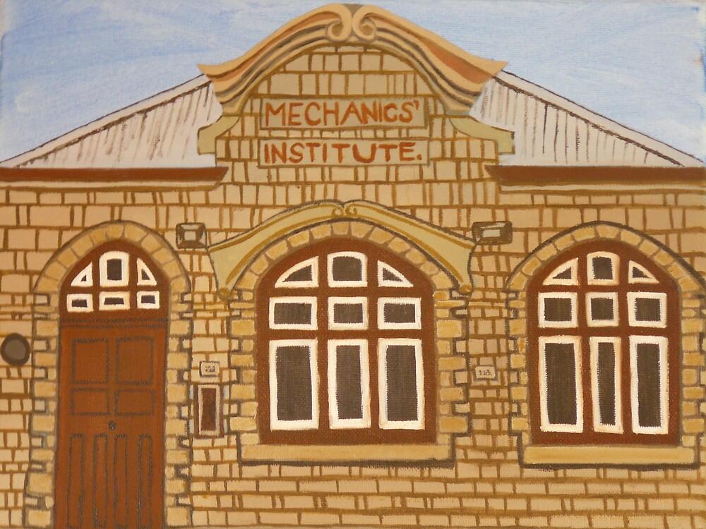 Mechanics Institute by Joan Wild