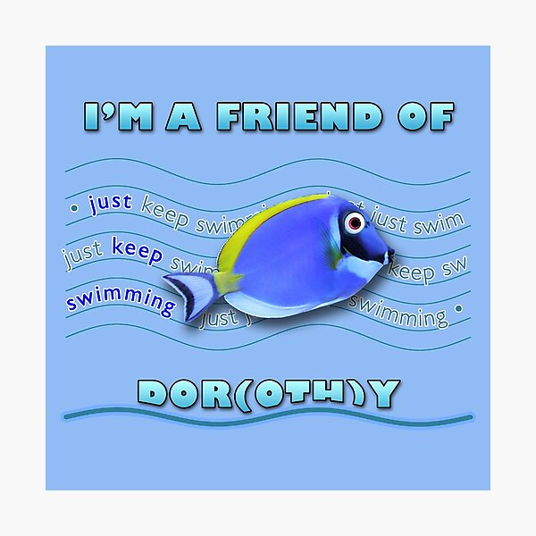 Friend of Dor(oth)y Photographic Print