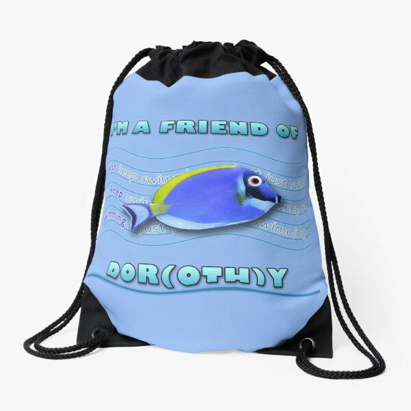 Friend of Dor(oth)y Drawstring Bag
