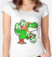 Tyrunt - Yoshi variant Women's Fitted Scoop T-Shirt