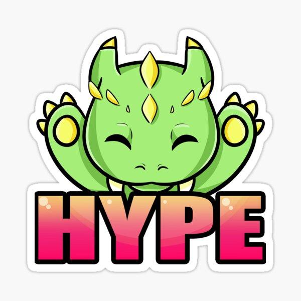 Hype Dragon Sticker