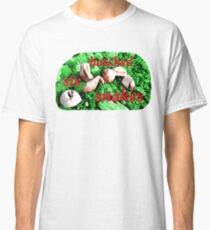 Six Hatched Snakes Classic T-Shirt