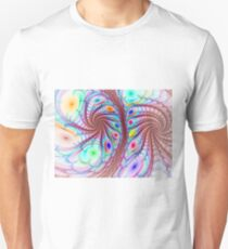 Spherical Twisted Flowers T-Shirt