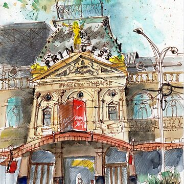 Princess Theatre in Melboure by EvelynHoward