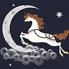 The Magic Unicorn by christymcnutt
