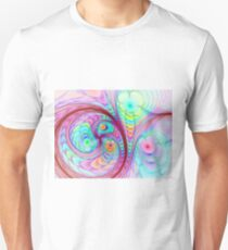Spherical Colorful Flowers T-Shirt