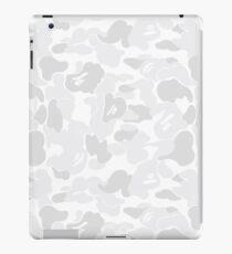 BAPE CAMO (White) iPad Case/Skin