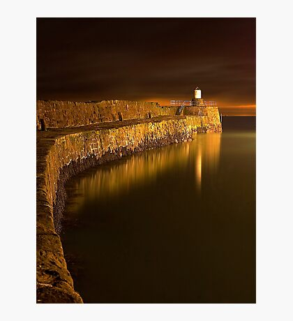 Pittenweem Pier Photographic Print