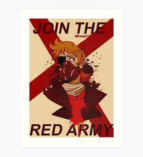 Tord Eddsworld War Poster Art Print