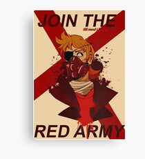 Tord Eddsworld War Poster Canvas Print