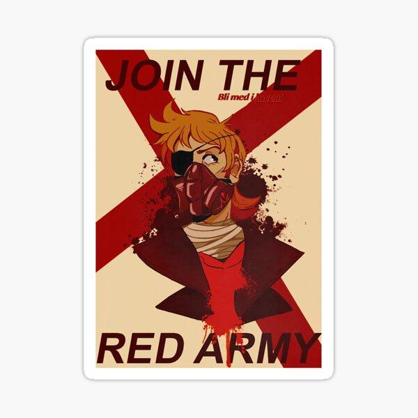 Tord Eddsworld War Poster Sticker