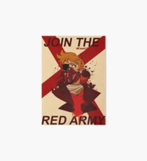 Tord Eddsworld War Poster Art Board