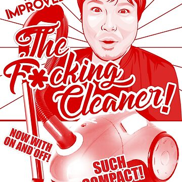 The Retro F*cking Cleaner by abroadinjapan
