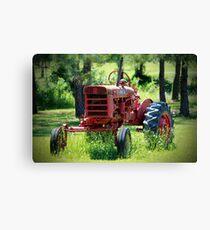 McCormick Farmall Tractor Canvas Print