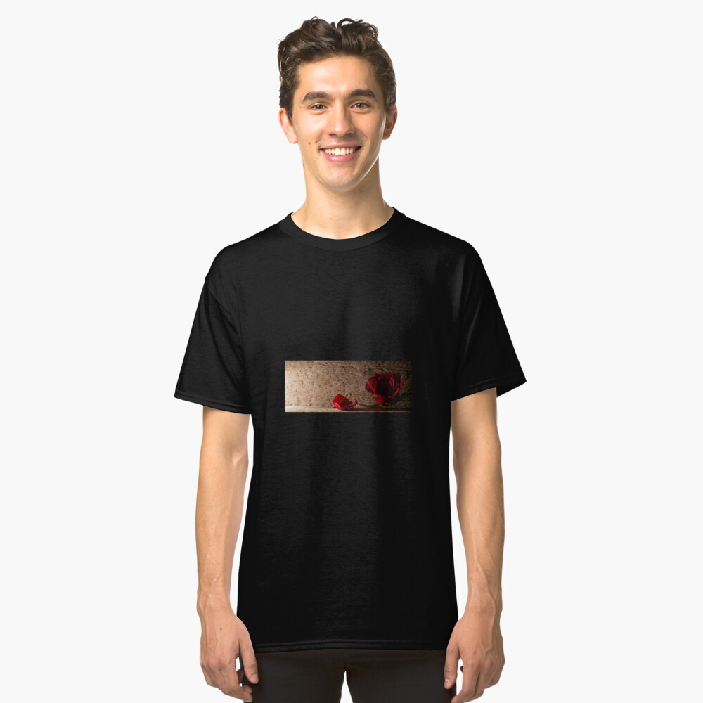 Rose and petal Classic T-Shirt Front