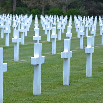 American WWII Cemetery - Colleville s/Mer Normandy, France by Buckwhite