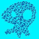 Squidgee Head Blue by Brett Perryman