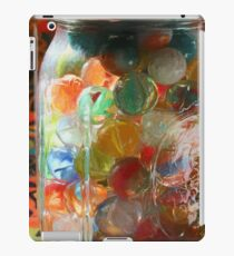 Marbles in a Jar 2 Painterly iPad Case/Skin