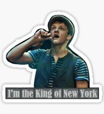 Newsies I'm the King of New York Sticker