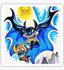 Bat stitch Sticker