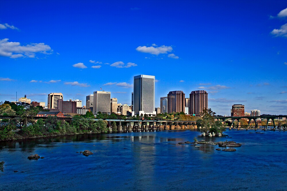 Richmond, VA in HDR by bartlettphoto