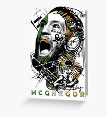 Conor Mcgregor - The Notorious Greeting Card