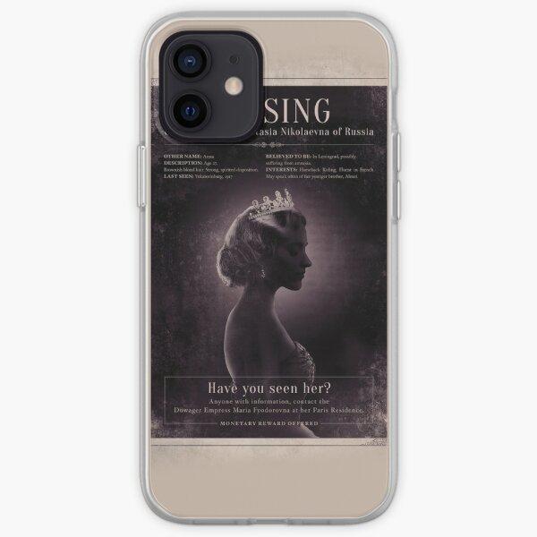 anastasia musical phone case iPhone Soft Case