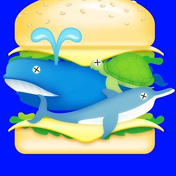 Hamburger Heaven - WhaleOn by yobbo